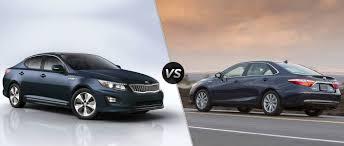 2015 Kia Optima Hybrid vs 2016 Toyota Camry Hybrid