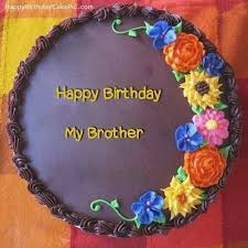 Happy Birthday Cake Wishes For Brother Colorfulbirthdaycakesml
