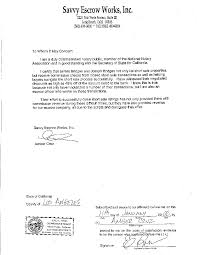 Notarized Letter 24 Notarized Letter Sample Informal Email 3