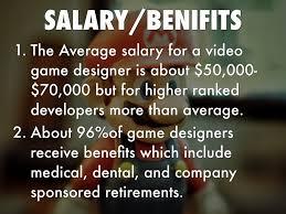 Game Designer Benefits Video Game Designer By Desmond Aggrey