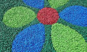 decorative garden stones groupon