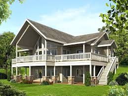 new house plans for sloping lots and 104 best waterfront house plans images on 83