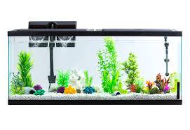 image aqua culture aquarium starter kit with led 55 gallon