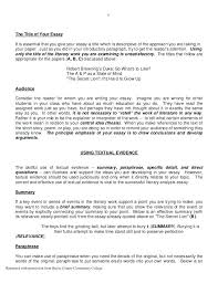 audience analysis essay example detail information for literary  how to write audience analysis essay literary paper template sample research critical