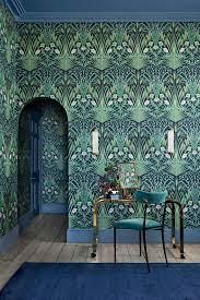 Blue Belle Wallpaper - 3 Colours – The ...