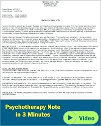 Soap Note Format Treatment Notes Template Mental Health Treatment Plan Template