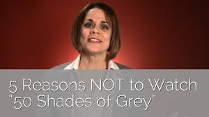 reasons not to watch shades of grey