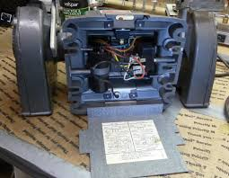 vintage craftsman block motor bench grinder info page  here are some detail pics for reference i have seen a post or two asking how a certain model is wired this model uses a relay and a start capacitor