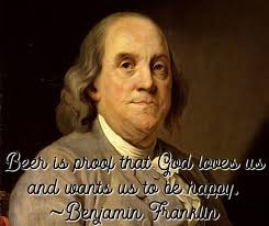 Ben Franklin Beer Quote Custom Our 48 Best Beer Quotes Great Sayings For Beer Lovers