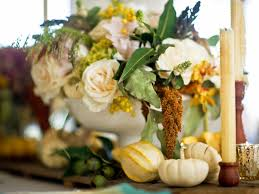 ... Gorgeous Accessories For Table Decoration Using Various Thanksgiving  Floral Table Centerpiece Ideas : Epic Picture Of ...