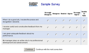 example of questionnaire format sample survey question formats