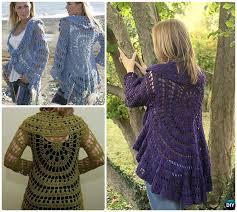 Crochet Circular Vest Pattern Free Enchanting DIY Crochet Circular Vest Sweater Jacket Free Patterns