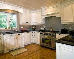 What Color Backsplash With White Cabinets Delectable Interior Backsplash Tile White Cabinets Subway Tile Kitchen