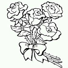 Small Picture Charming Idea Roses Coloring Pages 2 Easy Roses Coloring Page