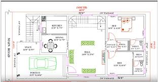best collection vastu shastra home plan 30 feet60 single floor modern home plan according to vastu