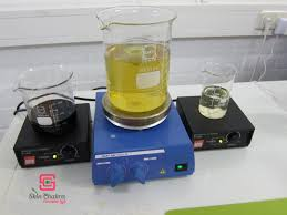 magnetic stirrer with and without hot plate