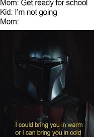 Last october star wars fans were treated to a new chapter in the saga in the form of the live action show the mandalorian. Celebrate The Mandalorian Season 2 With These Dope Memes Film Daily