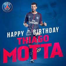 🎂🎁 🇮🇹 Thiago Motta 3️⃣5️⃣... - PSG - Paris Saint-Germain