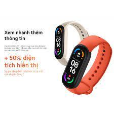 Vòng đeo tay thông minh Xiaomi Mi Band 6 | HÀNG CHÍNH HÃNG | BẢO HÀNH 12  THÁNG - Vòng Đeo Thông Minh - Vòng Theo Dõi Vận Động