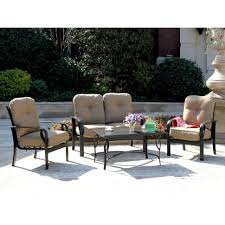 jamaica 4 piece patio conversation set mainstays 4 piece patio conversation set nassau 4