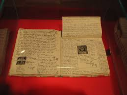 file anne frank diary at anne frank museum in berlin pages  file anne frank diary at anne frank museum in berlin pages 92 93 jpg