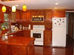 O African Mahogany Kitchen Cabinets