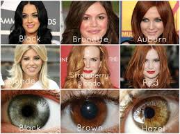 Warm Skin Tone Hair Color Chart Google Search Colors For