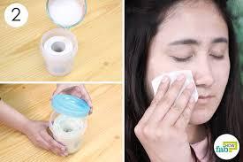 use this diy homemade baby shoo makeup remover