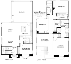 townhouse floor plans. Two Story Townhouse Floor Plans Image