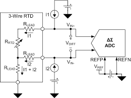 excitation current mismatch effects in three wire rtd measurement Four Wire Rtd figure 3 three wire rtd circuit with external reference four-wire rtd measurement