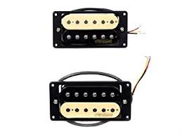 electric guitar pickups mwhz set by wilkinson zebra humbucker electric guitar pickups mwhz set by wilkinson zebra humbucker pair neck bridge