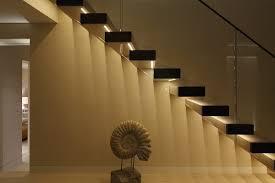 open riser staircase lighting