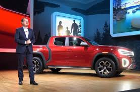 VW Targets the American Heartland with Atlas Tanoak Pickup Concept ...