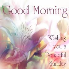 Sunday Good Morning Images With Quotes Best of Good Morning Wishing You A Peaceful Sunday Quotes Pinterest