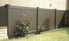 black vinyl privacy fence. Brown Vinyl Fence Chestnut Dark Picket . Black Privacy
