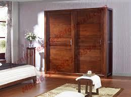 sliding doors wardrobe in solid wood bedroom furniture sets