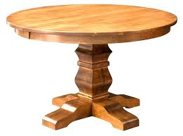 wood pedestal dining table solid wood round table round pedestal dining table solid wood rustic expandable