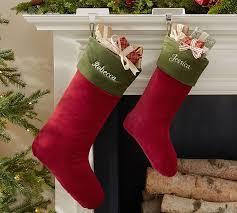 velvet christmas stockings. Delighful Stockings On Velvet Christmas Stockings L