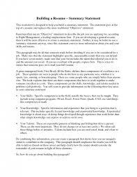 resume resume enchanting summary resume examples summary sample summary of resume examplesummary of resume example example of summary in resume
