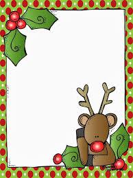 Free Printable Christmas Borders Templates Christmas Stationery 10