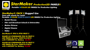 STARMAKER by FLUOTEC The perfect lighting tool for todays digital