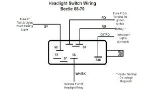 vw beetle headlight switch wiring diagram images hiring together vw beetle headlight switch wiring also vanagon