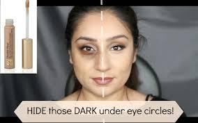 best way to correct conceal dark under eye circles w estee lauder double wear concealer makeup you