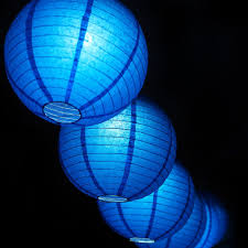 remote controlled paper lantern lights