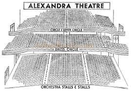 The New Alexandra Theatre Suffolk Street Queensway Birmingham