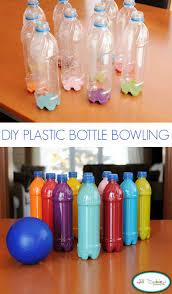 Diy Water Bottle Plastic Bottle Bowling Tutorial U Create