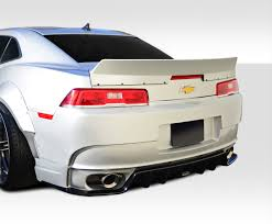 14-15 Chevrolet Camaro GT Concept Duraflex Body Kit-Wing/Spoiler ...