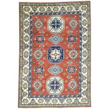 7x8 area rug hand knotted red tribal design oriental rug 7x8 gray area rug 7x8 area rug
