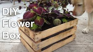 diy flower box garden planter gardenfork
