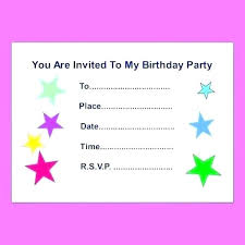 Happy Birthday Card Templates Free Impressive Create Birthday Invitations And Create Birthday Invitation Cards